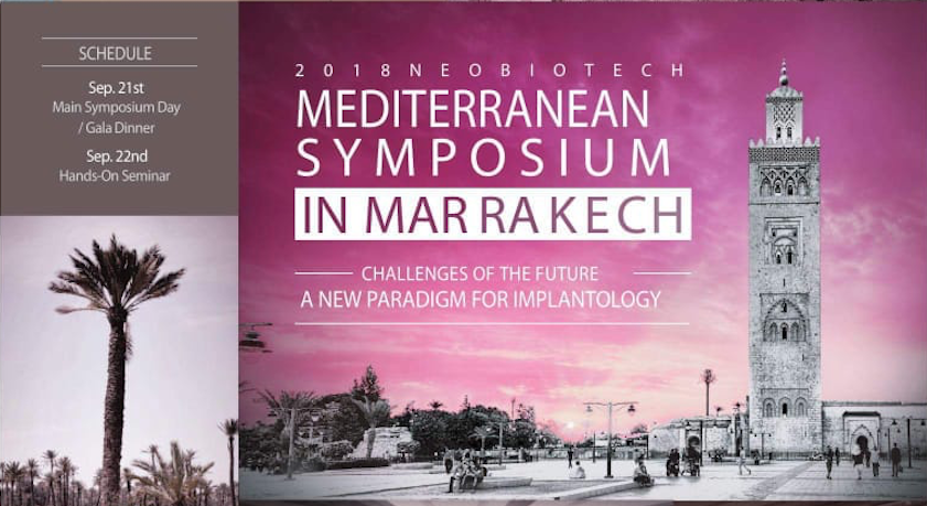"Communication externe – Participation au symposium ""Challenges of the future – A new paradigm for implantology"""